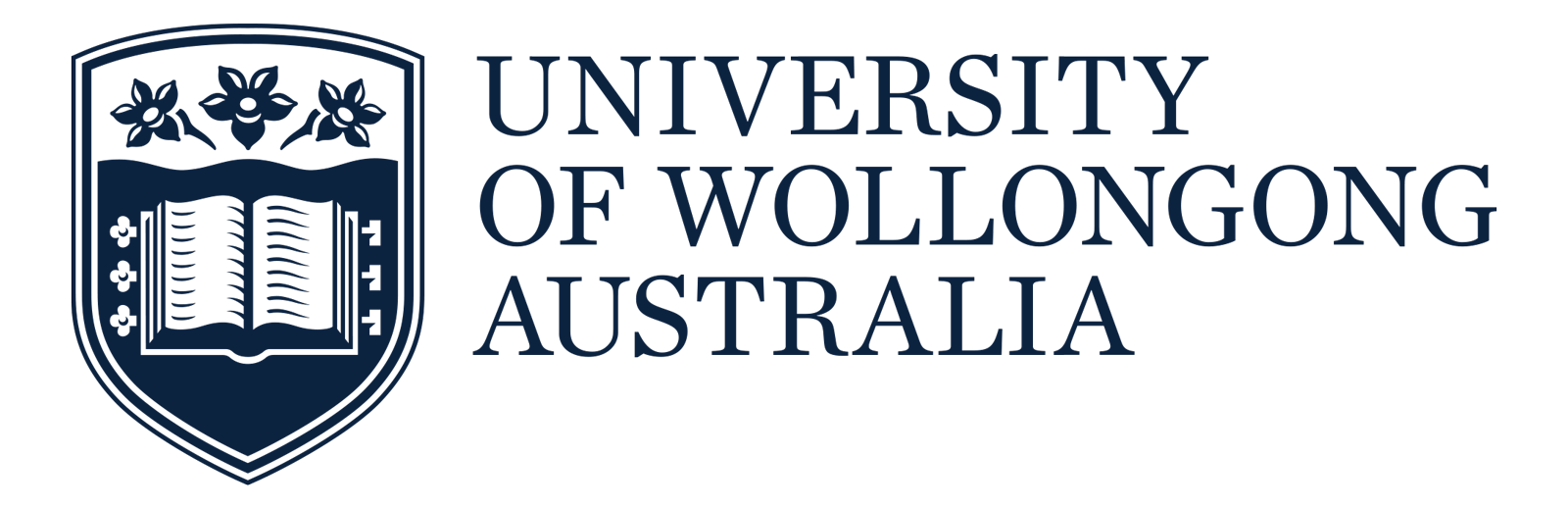The Logo for the University of Wollongong Australia